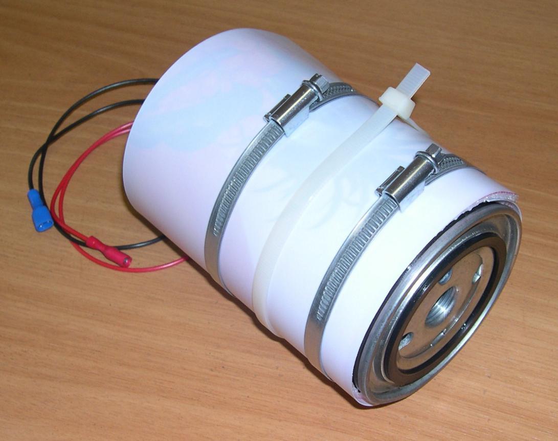Обогрев топливного фильтра на дизеле своими руками